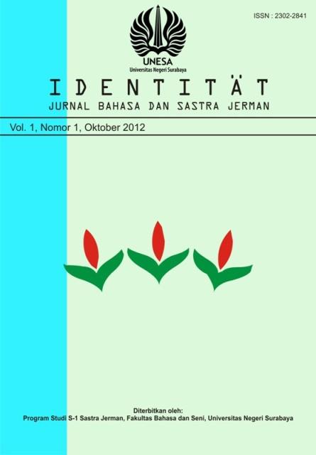 Jurnal Identitaet-Vol 1 No 1 Okt 2012