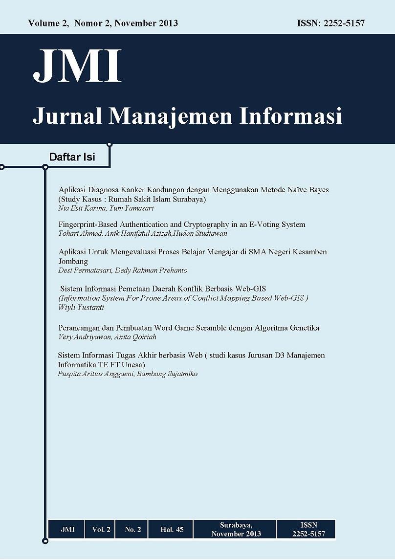 Jurnal Manajemen Informatika